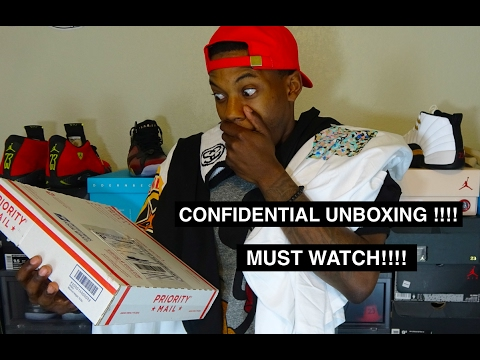 CLOTHING UNBOXING ft. CONFIDENTIAL COLLECTION!! VERY DOPE!!