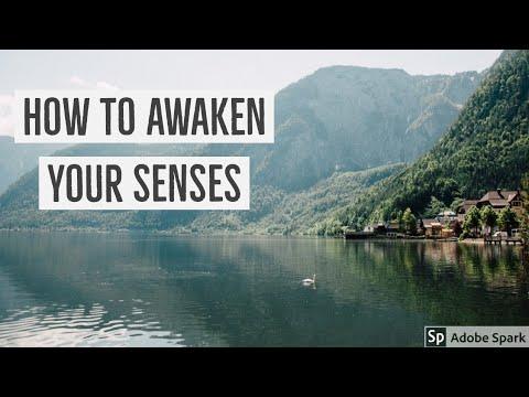 #senses How to awaken your spiritual senses