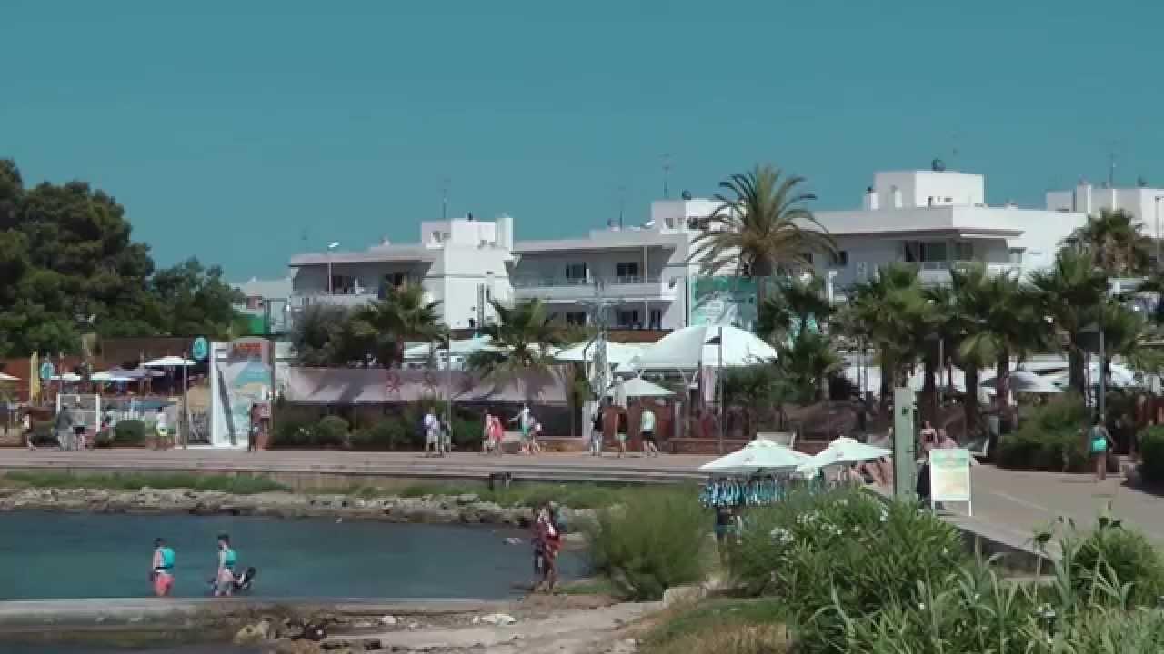 San Antonio Bay and beach Ibiza