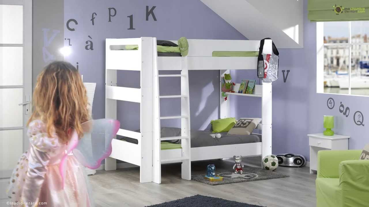 Mezzanine chambre fille - Lit modulable enfant ...
