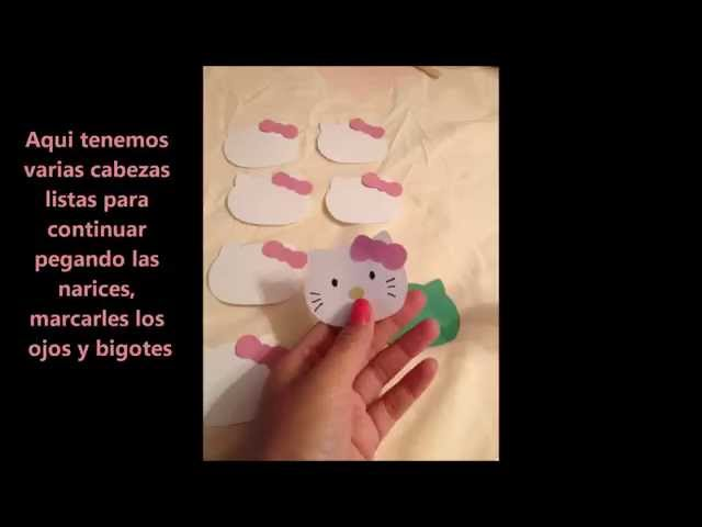 DIY Hello kitty Recuerditos Videos De Viajes