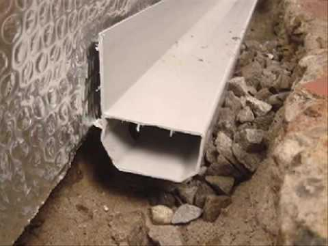 Basement Waterproofing With Thermal Break Home