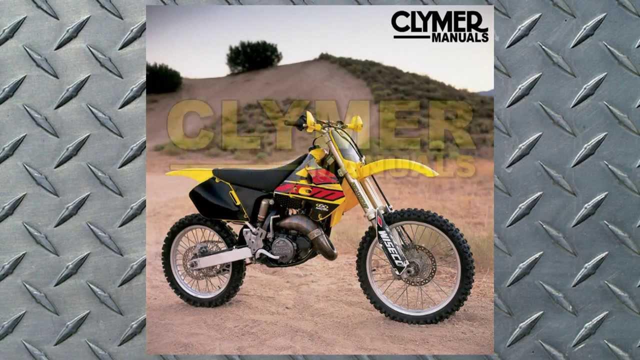 clymer manual suzuki rm125 1996 2000 manual m400 at bikebandit rh youtube com 1999 Suzuki RM 125 Manual 2000 Suzuki RM 125