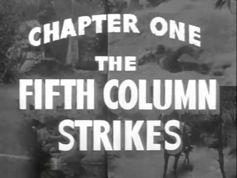 """KING OF THE TEXAS RANGERS Chapter 1: """"The Fifth Column Strikes"""""""