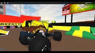 Earth Shaker Freestyle @ SkyX ROBLOX Monster Jam World Finals XIX