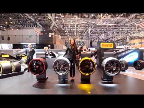 Pirelli booth - Motor Show Geneve 2017