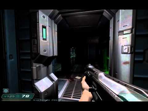 Doom 3 Alpha Labs - Sector 1 Part 2, damnit Swan