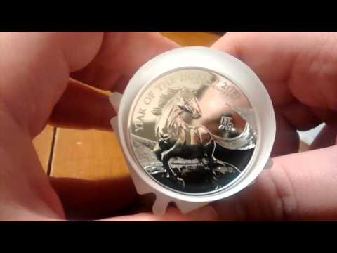 JM Bullion Silver Unboxing 2014 UK Lunar Horse