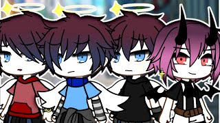 ~1 sister and 3 brothers~Part 1 ////gacha life////