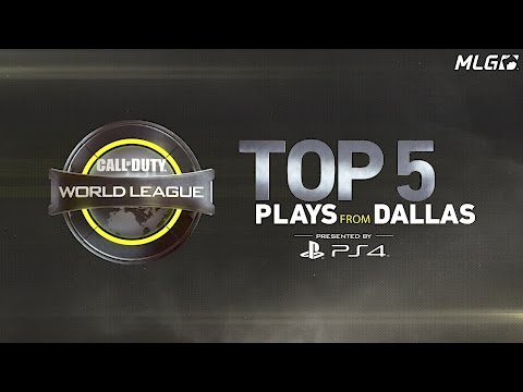 The Top 5 Plays from OpTic Gaming at the CWL Dallas Open!