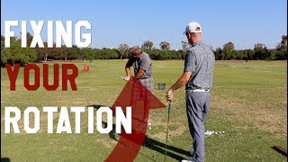 NEW! Monte How to Square the clubface with your ROTATION | Golf