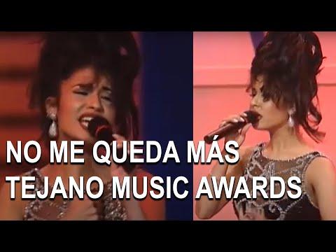 Selena - No me queda más (14th Annual Tejano Music Awards)