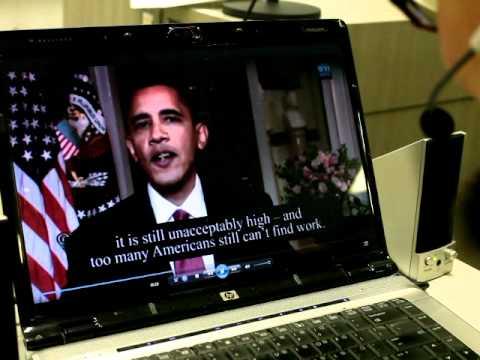 Akihito's Speak & Be® President Obama