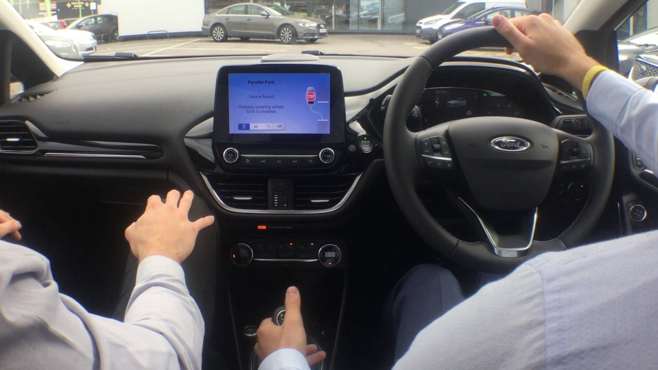 Ford Fiesta Active Park Assist Demo With Dom At Birchwood Pt 3 Youtube