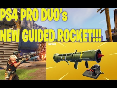 Fortnite - Livestream DUO's Game Play (NEW GUIDED ROCKET