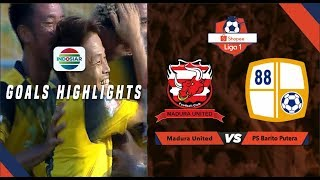 Madura United (2) vs (2) Barito Putera - Goal Highlights |  SHOPEE LIGA 1
