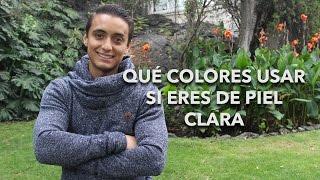 Qué colores usar si eres de piel clara | Humberto Gutiérrez