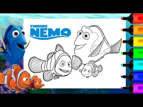 Nemo Coloring Pages | Cool2bKids | 360x480