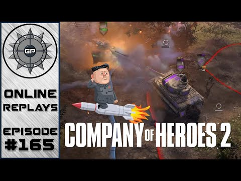 Company of Heroes 2 Online Replays #165 - North Korea Strikes Back