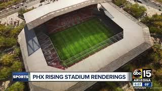 Phoenix Rising FC unveils potential MLS stadium - ABC15 sports
