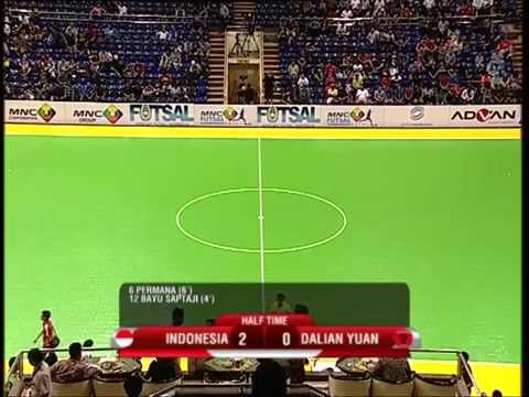 INDONESIA VS DALIAN (CHN) - FUTSAL