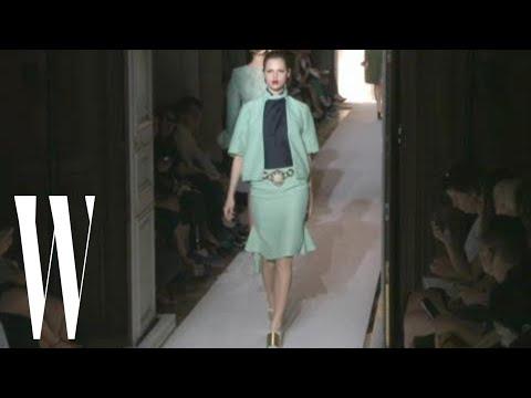 Yves Saint Laurent Spring 2012 - runway fashion show - W Magazine