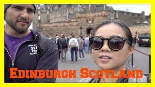 Travel Vlog: Edinburgh Scotland