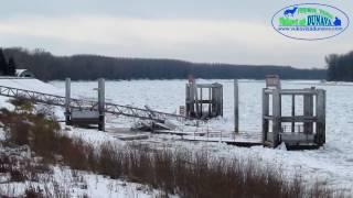 Led uništio pristan u Apatinu