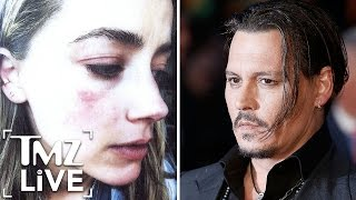 Johnny Depp & Amber Heard -- Alleged Domestic Violence Explained | TMZ Live