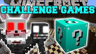 Minecraft: MANGLE CHALLENGE GAMES – Lucky Block Mod – Modded Mini-Game