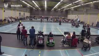 Powerchair Hockey / The Flanders Cup: Gidos Screamers vs. The Antwerp Wheelblazers 9-3
