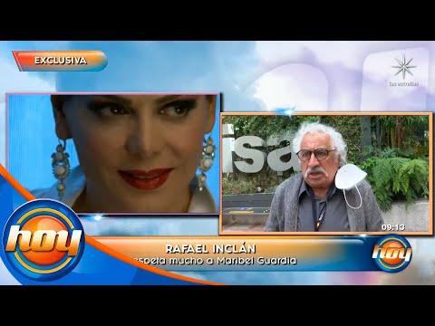 Rafael Inclán revela que hace años tuvo un romance con Maribel Guardia | Programa Hoy