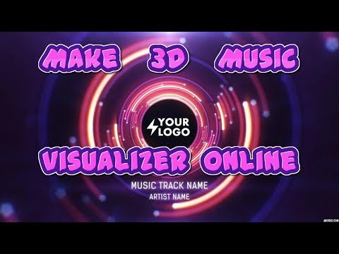 How To Make 3D Music Visualizer Online