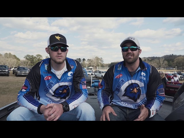 BASS Fishing Team at Calhoun Community College