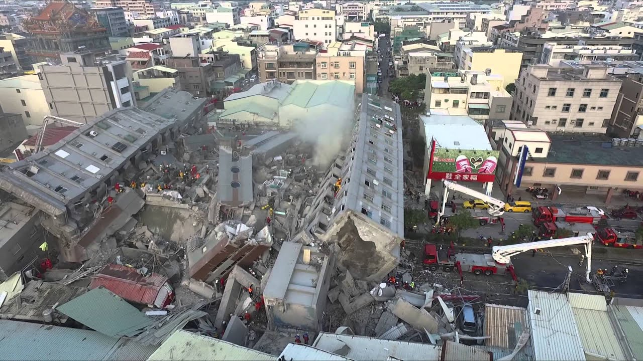 0206高雄美濃大地震的一些想法