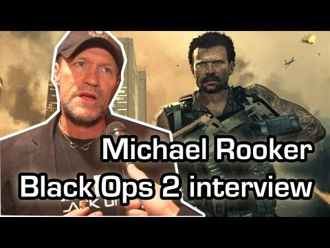 Walking Dead actor loves his role in Black Ops 2  Michael Rooker