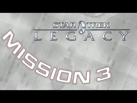 Star Trek: Legacy - Mission 3 Be my Shepherd - Captain Archer NX Enterprise  ***No Commentary***