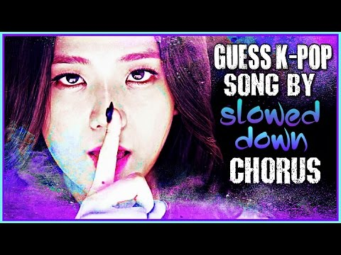 GUESS KPOP SONG BY IT'S CHORUS #3 | EASY