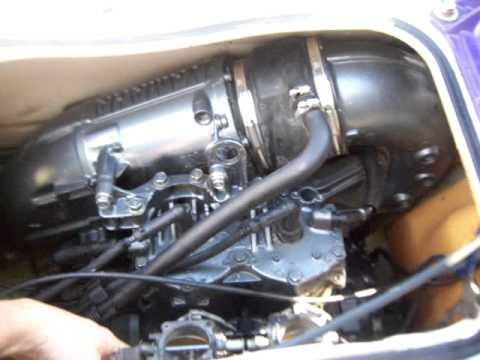 1997 Yamaha Wave Runner 760 engine running  YouTube
