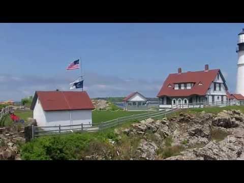 Cape Elizbeth's Lighthouse, Maine, USA, June, 2014
