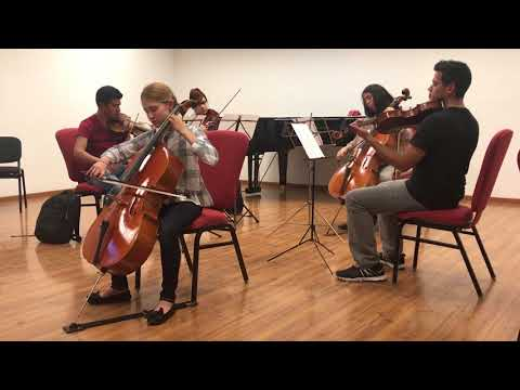 Cello - Claire Rimond; Romberg Sonata No. 38 with string quartet