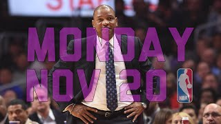 NBA Daily Show: Nov. 20 - The Starters thumbnail