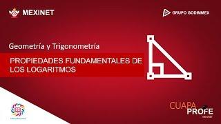#CuapaProfe | Propiedades Fundamentales de los Logaritmos