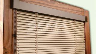 Горизонтальные жалюзи   Изолайт isoline, на пластиковые окна! Крутой Обзор