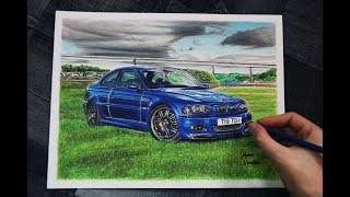 BMW E46 M3 | United Kingdom | Car Drawing