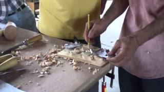 Wood Relief Carving  With Ayhan Tomak
