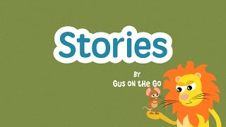Gambar cover Stories by Gus on the Go Trailer - Lion & Mouse - French