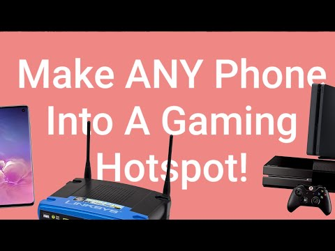 How To Use FREE  WiFi Hotspot PdaNet On Your Xbox Or PS4 | Works On ANY Android Device