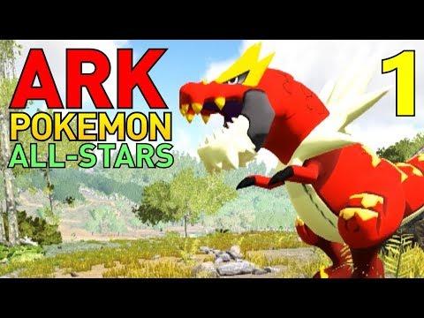 [1] ARKeMon Go! Pokemon In ARK! (ARK Pokemon All-Stars Multiplayer)