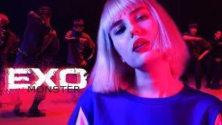 транслейт EXO 엑소  - MONSTER (Russian Cover    На русском)